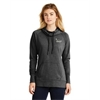 LNEA510 - New ERA Ladies Tri-Blend Fleece Pullover Hoodie-Black Heather